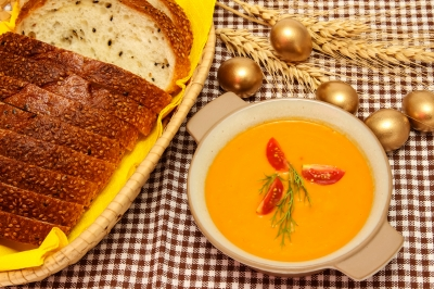 Leckere Karotten Ingwer Suppe
